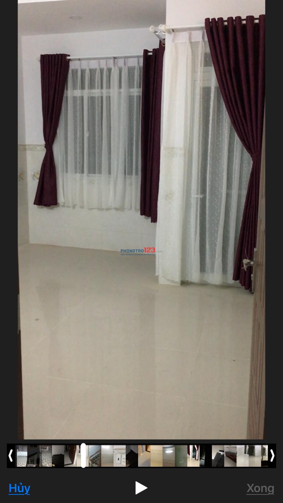 Cho thuê phòng 46/22B Nguyễn Ngọc Nhựt, P.Tân Qúi, Q.Tân Phú