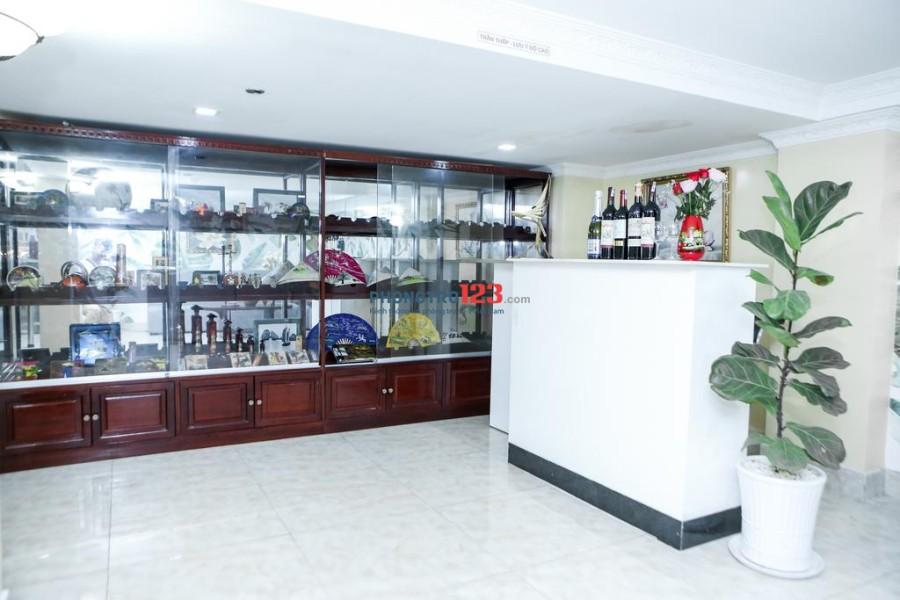 Căn hộ dịch vụ thiết kế sang trọng, đầy đủ tiện nghi nội thất Trần Hưng Đạo, Quận 1