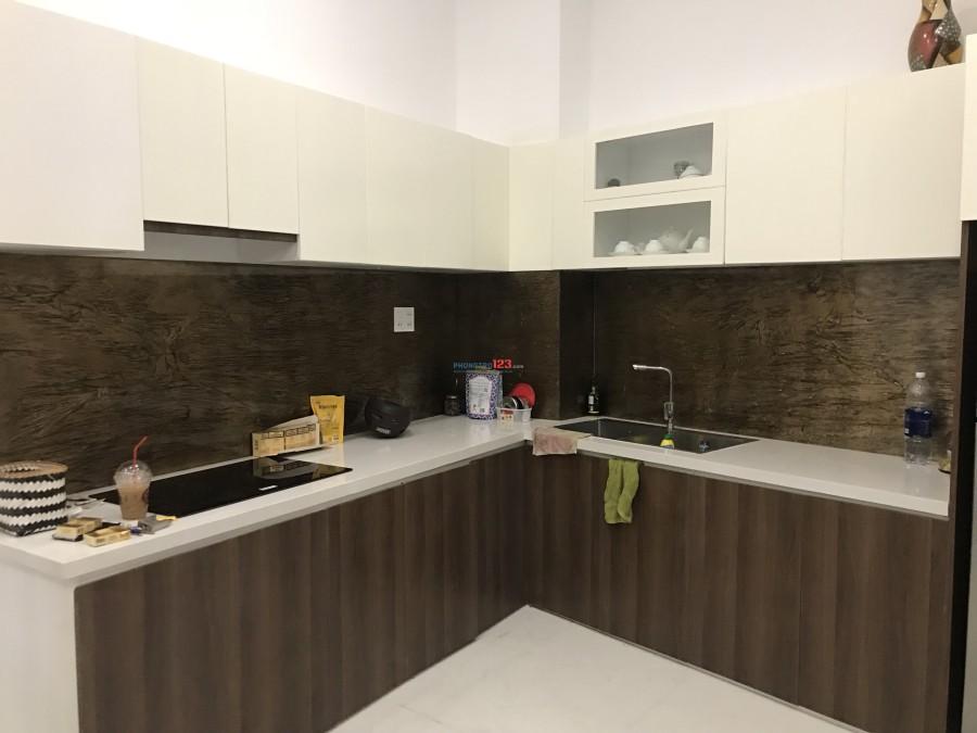 Cho thuê nhà nguyên căn HXH 1 trệt 3 lầu đường Võ Thị Sáu, Quận 3 mới xây