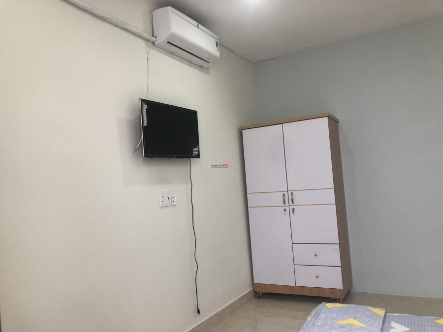 Căn hộ studio đầy đủ tiên nghi gần CV Lê Thị Riêng ngay CMT8