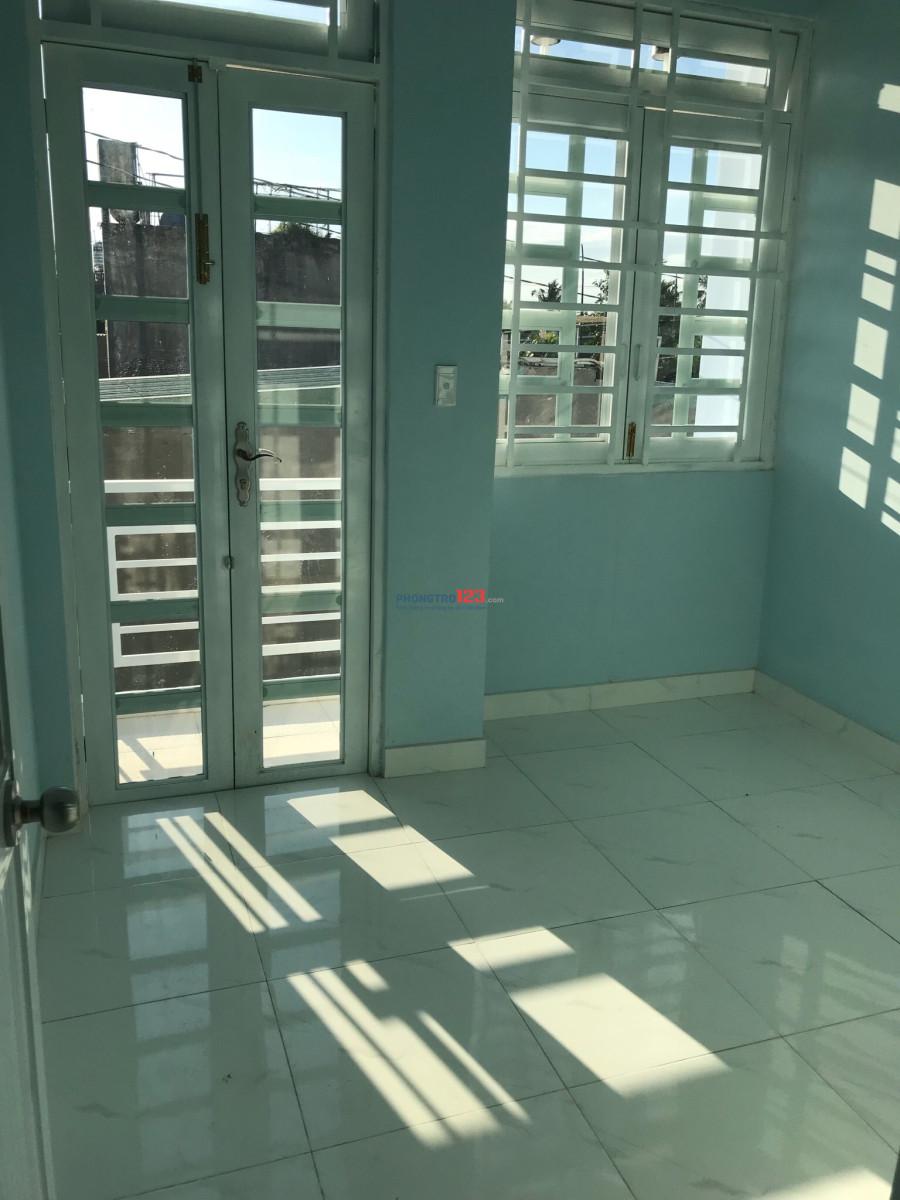 Cho thuê nhà nguyên căn trệt lầu 2pn, 2wc Q12 45m2