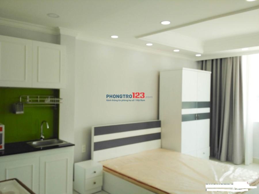 Cho thuê căn hộ mini 35m2, ban công, tiện nghi 40 Trường Sơn
