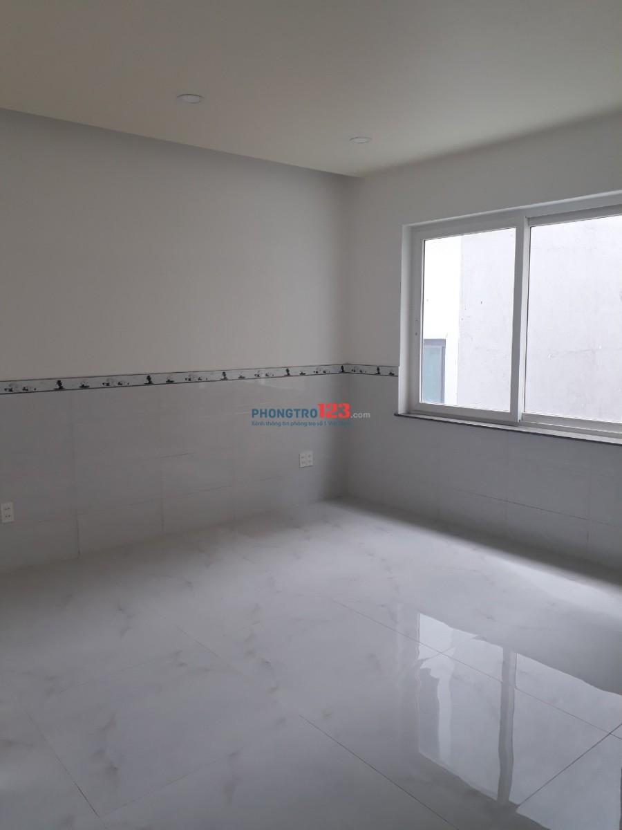 Phòng đẹp 25m2 mới xây máy lạnh, giá 3.5 triệu/tháng