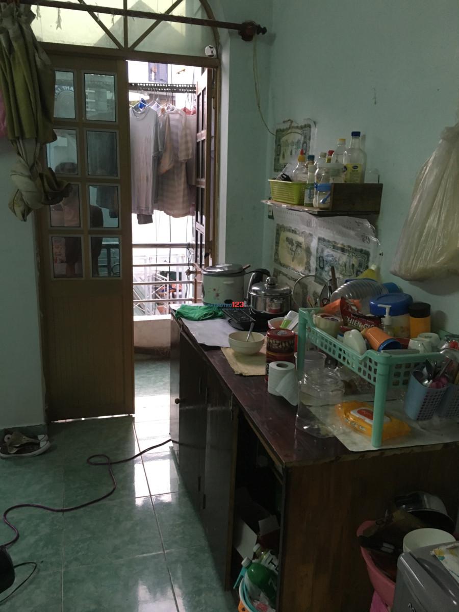 Phòng 25m2 hẻm 339/16 Tô Hiến Thành 3,5tr/tháng có máy lạnh giờ tự do ở được 3-5 người, wifi free