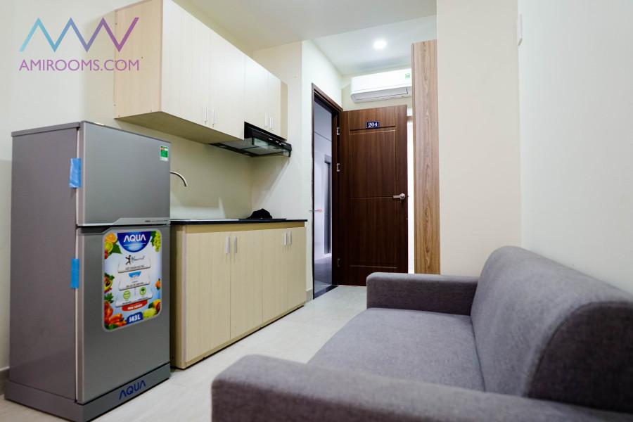 Cho thuê Căn Hộ cao cấp full tiện nghi, mới xây, 25m2 6tr/th 359A Nguyễn Xí, P13 Bình Thạnh LH 0933141633