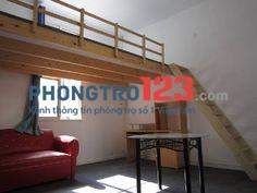 Phòng tiện nghi có gác xếp 26m2 đường Nguyễn Thị Thập kế Lotte mart Q.7