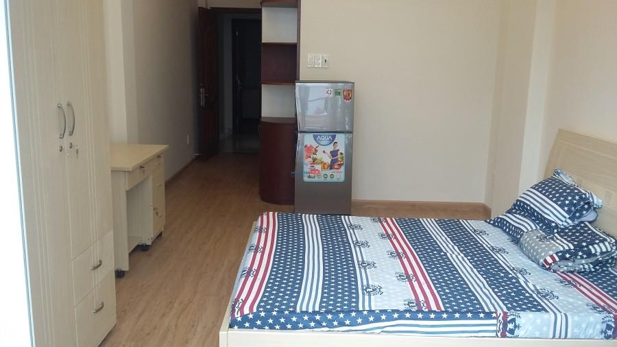 (Phòng ban công) Quận 5 sát Hùng Vương Plaza, Đại học Y Dược, đại học Sư Phạm, đại học Hoa Sen