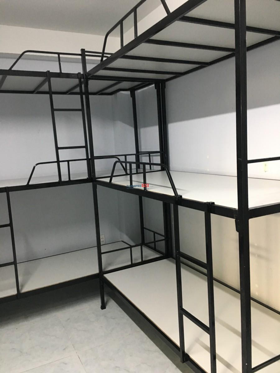 Phòng KTX máy lạnh 3/2, Q.10 giá rẻ chỉ 500k/người/tháng