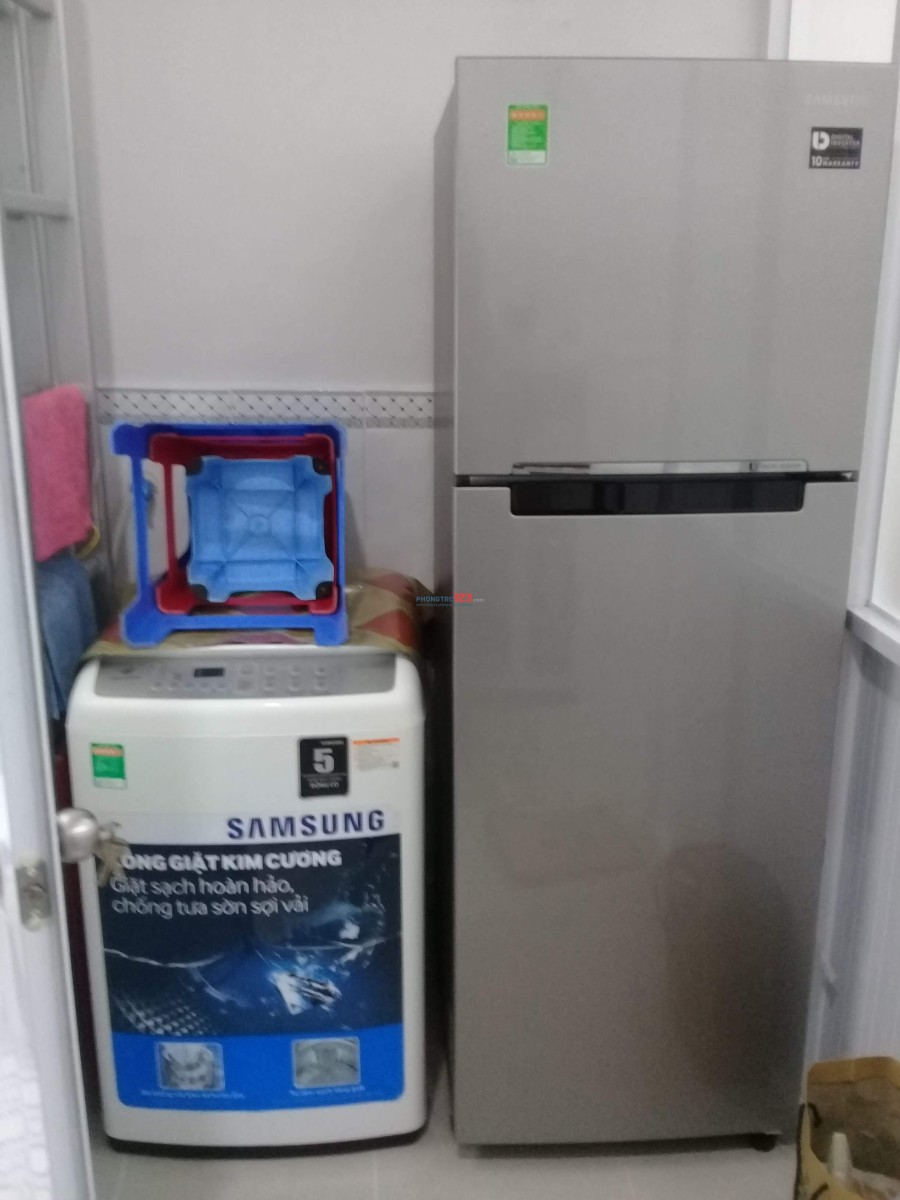 Phòng trọ NỮ mới xây quận Bình Thạnh cho nhân viên y tế