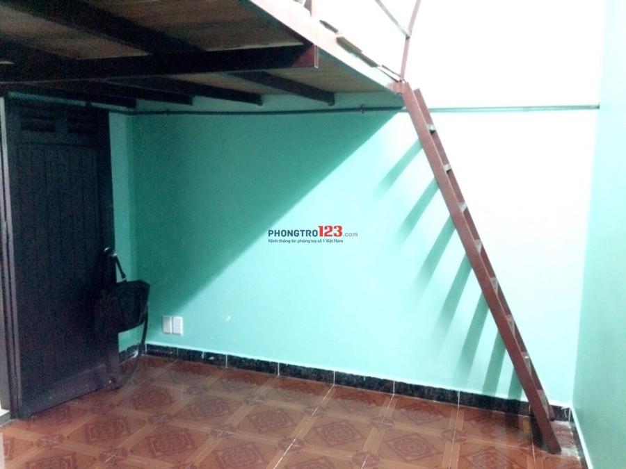 Phòng trọ mặt tiền số 77 Bàu Cát, giá 2.5 triệu/tháng có gác