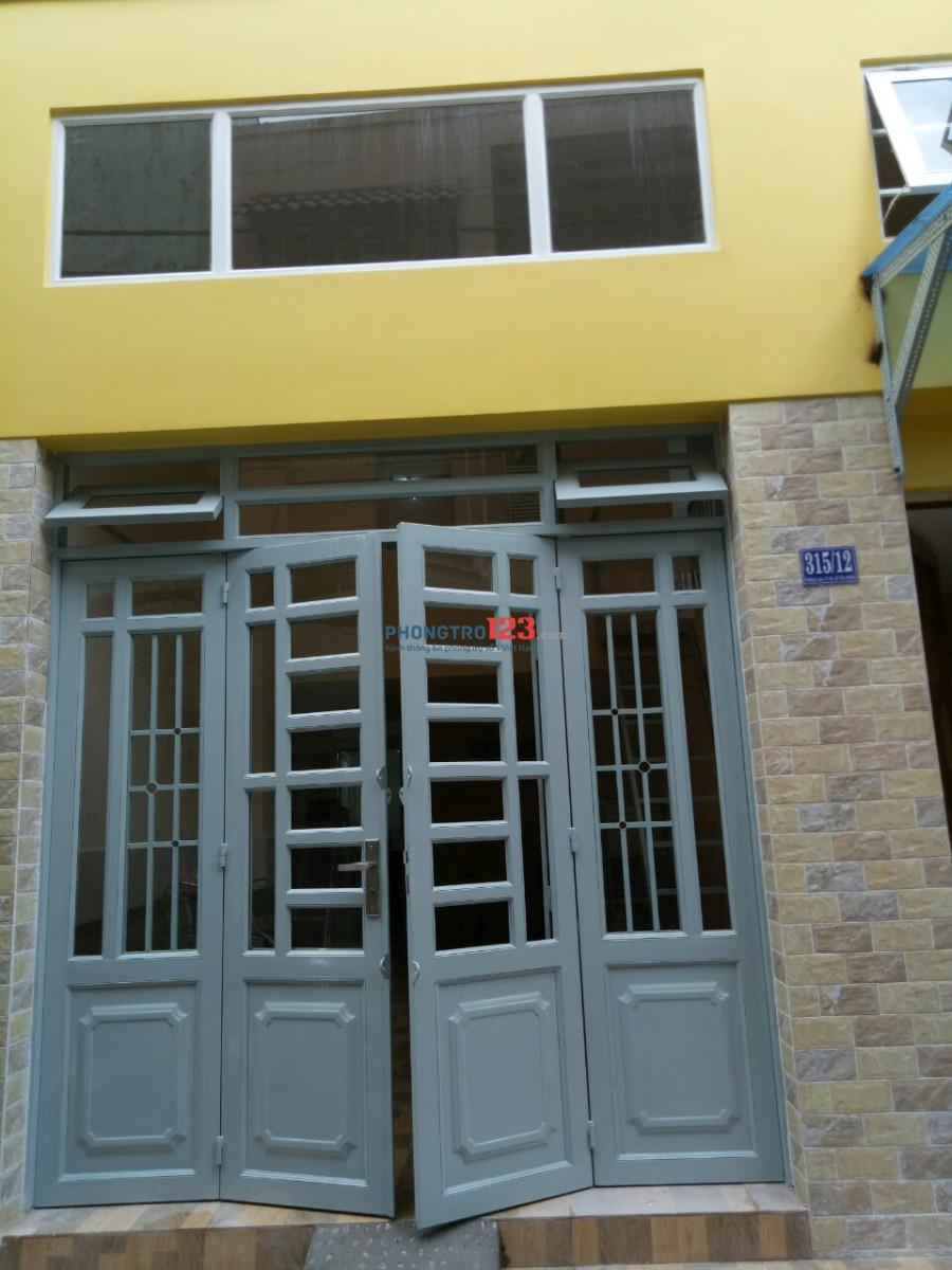 Cho thuê nhà nguyên căn mới xây Hồng Lạc