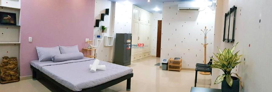 Cho thuê căn hộ dịch vụ, phòng cao cấp ngay trung tâm Q.1. Giá 6,8tr/tháng