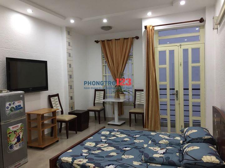 Cho thuê phòng đầy đủ nội thất khu trung tâm phòng đẹp