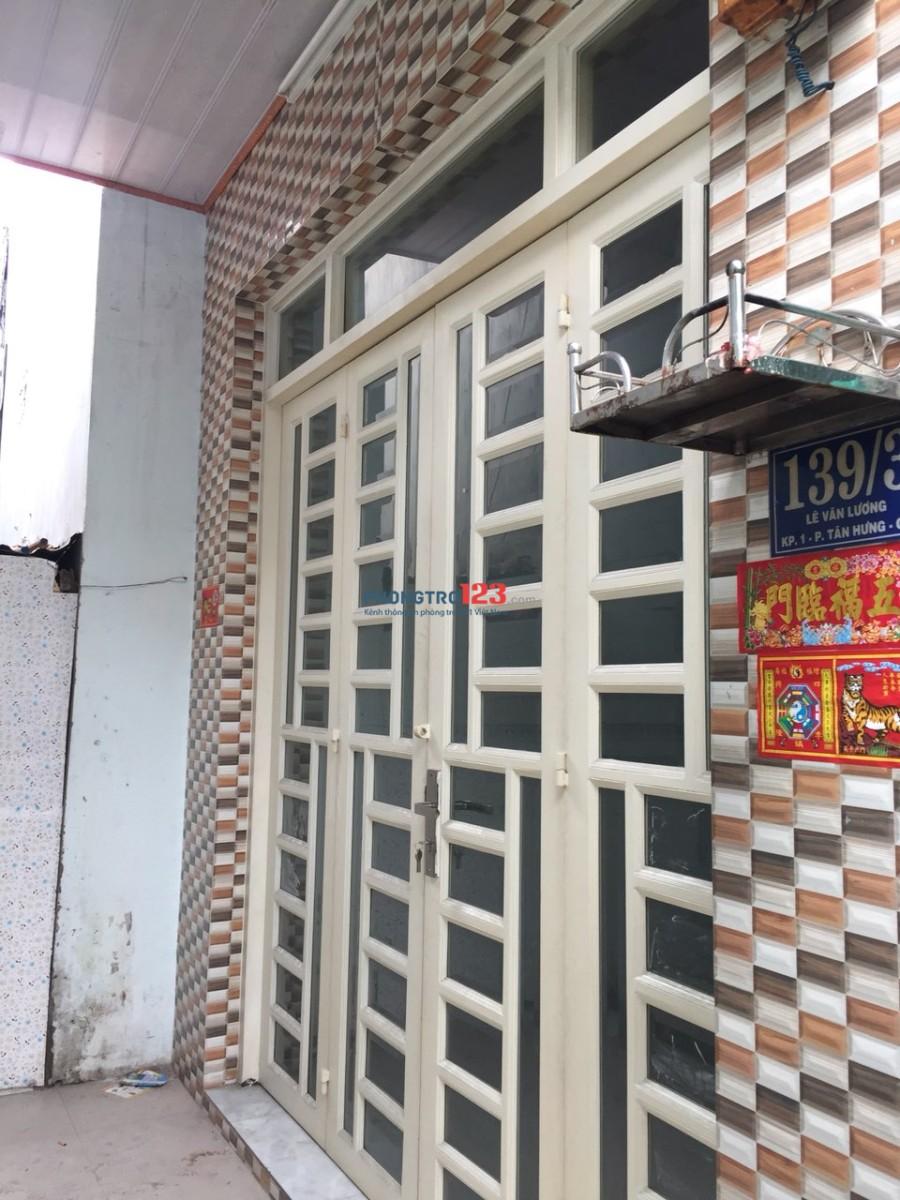 Chính chủ cho thuê nhà, ngay khu Lotte