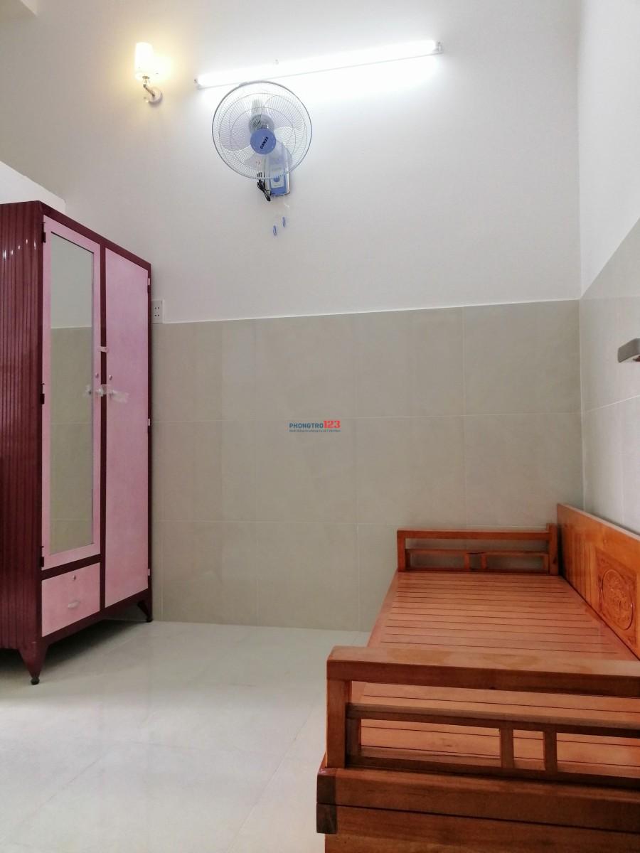 Phòng cao cấp full nội thất 30m2, có máy lạnh, nước nóng, nuôi pet Q.12