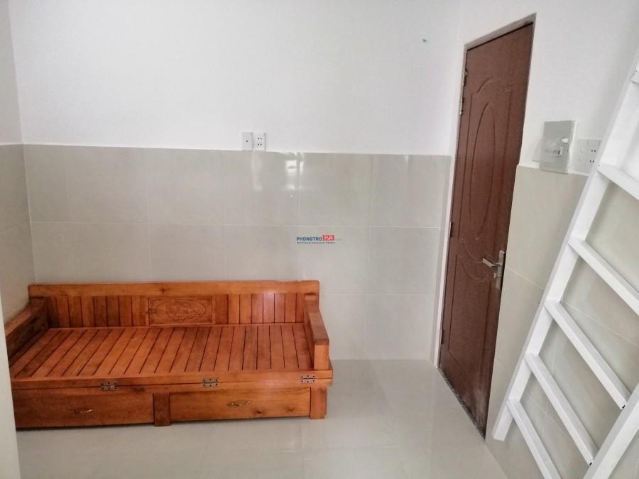Cho thuê phòng full nội thất mới xây, có gác, máy lạnh, nước nóng, thoáng mát, Quận 12