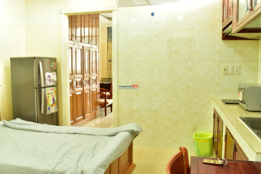 Phòng Studio giá rẻ ngay trung tâm, diện tích từ 25m2