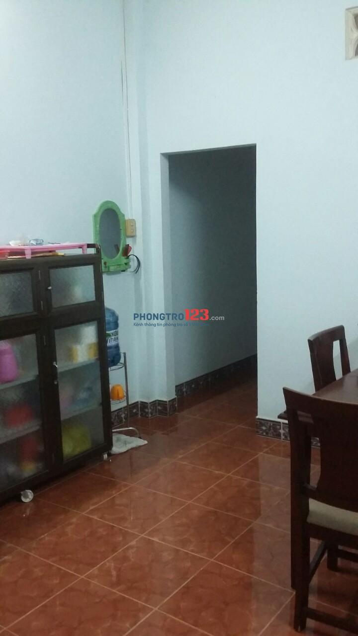 Cần cho thuê nhà nguyên căn - Phường Tân Hưng Thuận - Quận 12