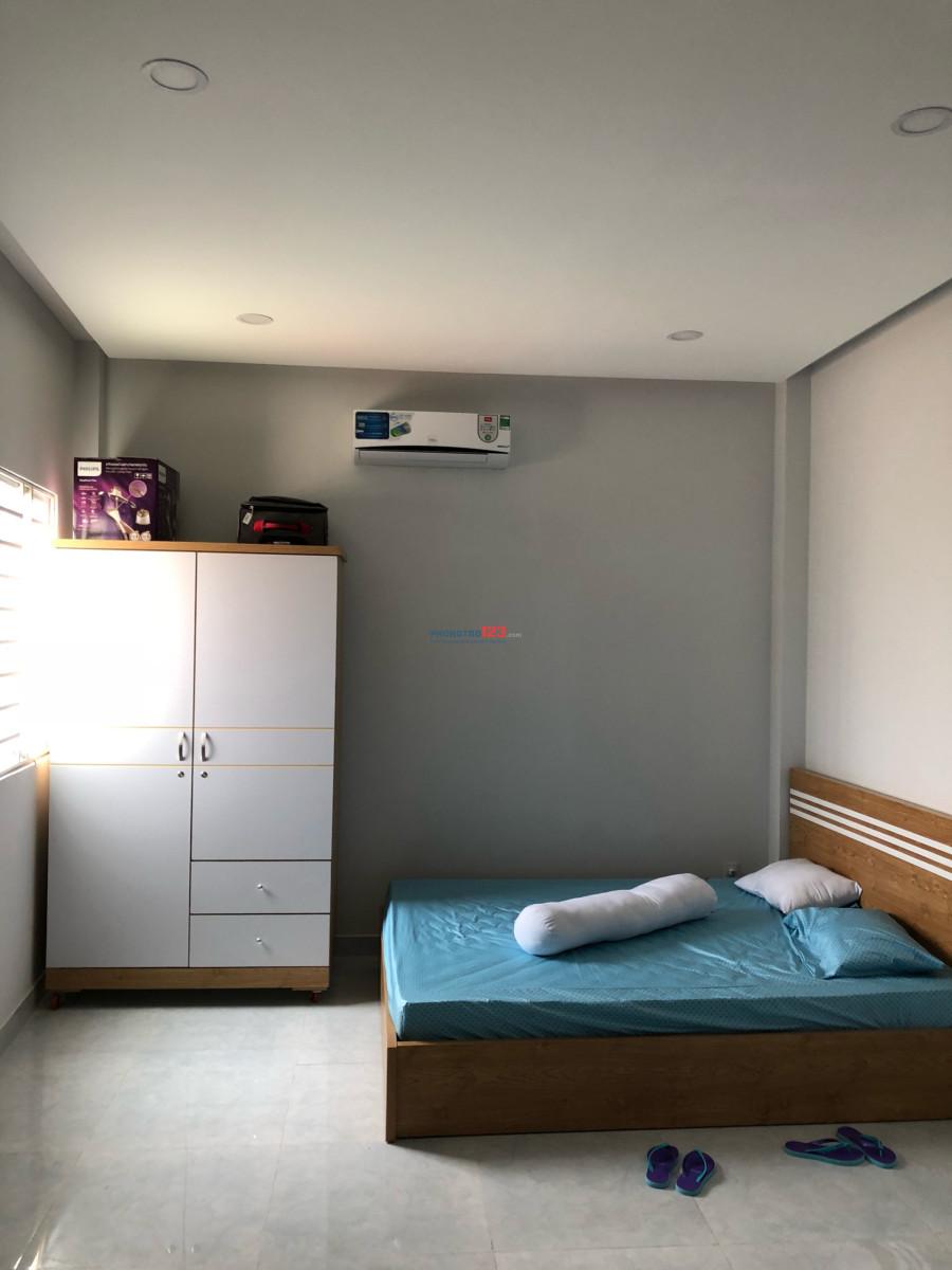 Phòng full tiện nghi gần Ngay Thành Thái - Bắc Hải, Q.10 giáp Với Tân trang Q.Tân Bình 3,6tr - 4tr - 4.8tr - 5tr