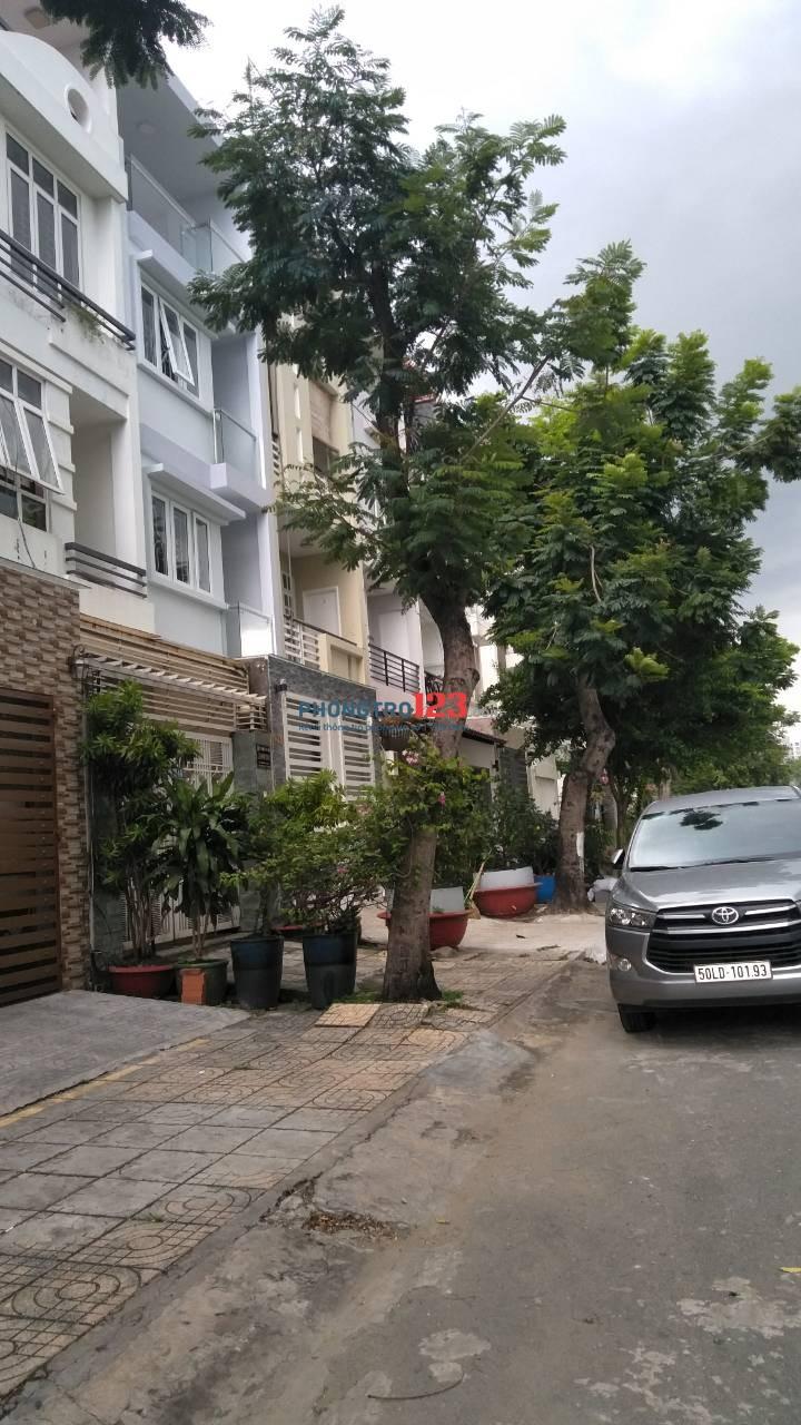 Nhà cho thuê P.Tân Phong, Q.7, gần bờ sông, gần Phú Mỹ Hưng, Lotte Mart Q.7