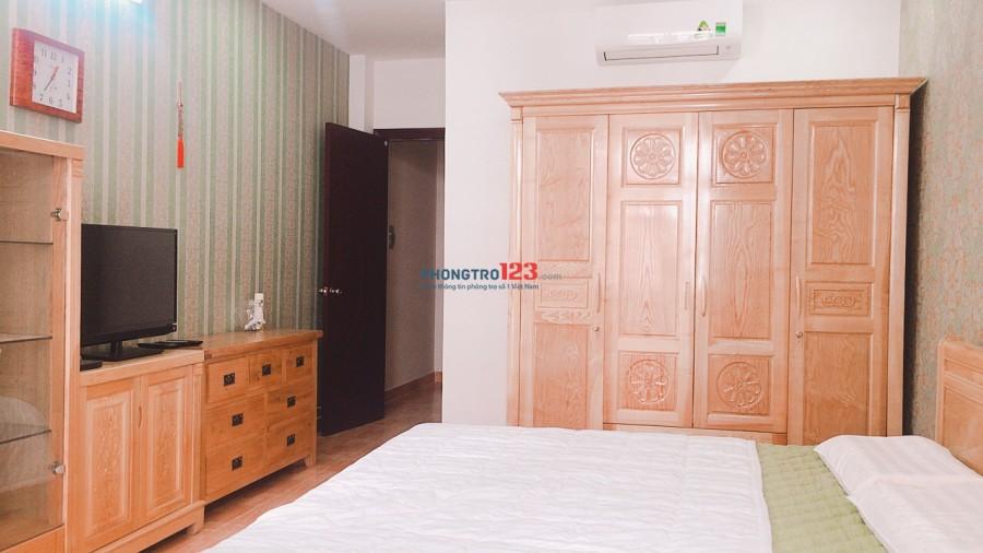 Phòng căn hộ cho thuê full tiện nghi trong khu biệt thự nhà giàu sang trong 372 CMT8, Q.3. LH: 01687205966