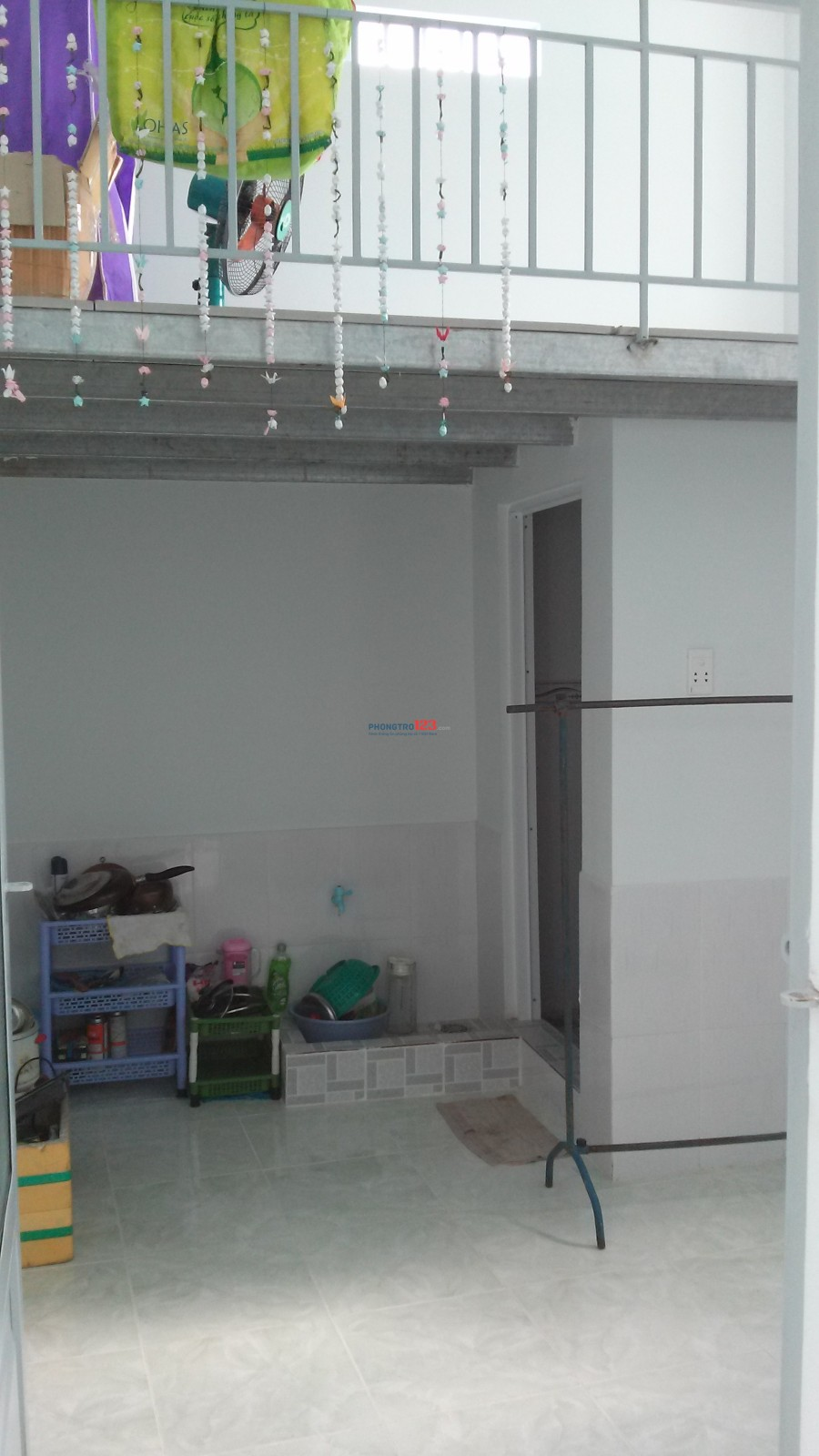 Cho nữ thuê phòng trọ cao cấp mới xây đường Nguyễn Thị Tú, sạch và mát, 1.2 triệu/phòng, DT: 18m2
