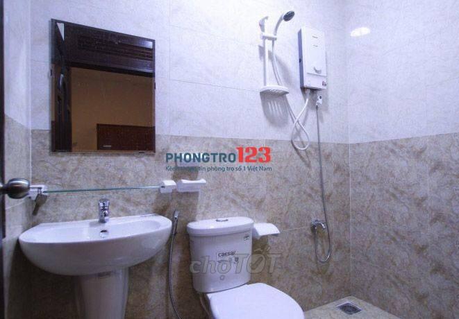 Căn hộ mini 25m2, nhà mới xây full tiện nghi gần công viên Lê Thị Riêng