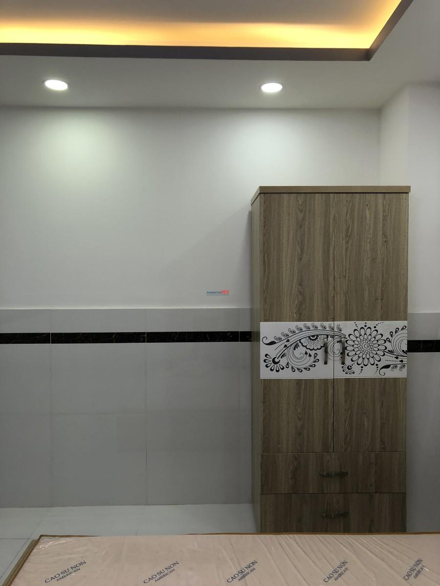 Phòng mới xây, đầy đủ tiện nghi cho thuê