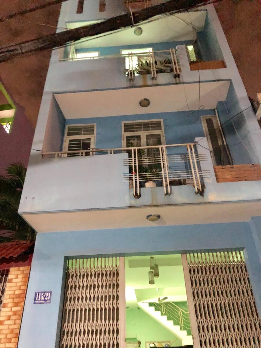 Cho thuê phòng trọ 20m2, sạch sẽ thoáng mát, an ninh khu vực trung tâm Phan Xích Long, Phú Nhuận