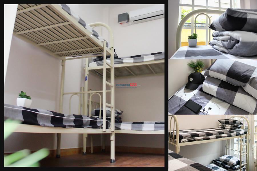 Cho thuê giường tầng tại ký túc xá trung tâm Q.10