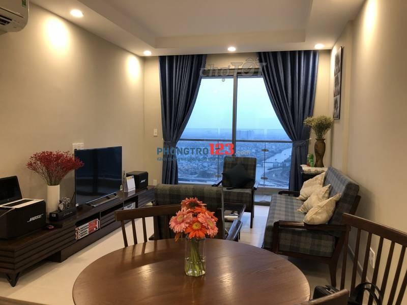 Cần cho thuê căn hộ Central Garden,Q.1, 76m2, 2pn, nội thất cao cấp, 12.5tr/th. LH:0914738840