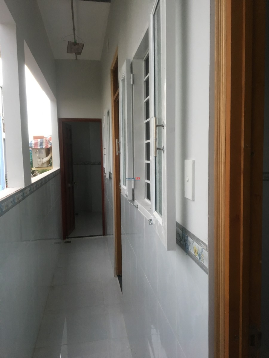 Phòng trọ mới xây Phòng lạnh, phòng thường
