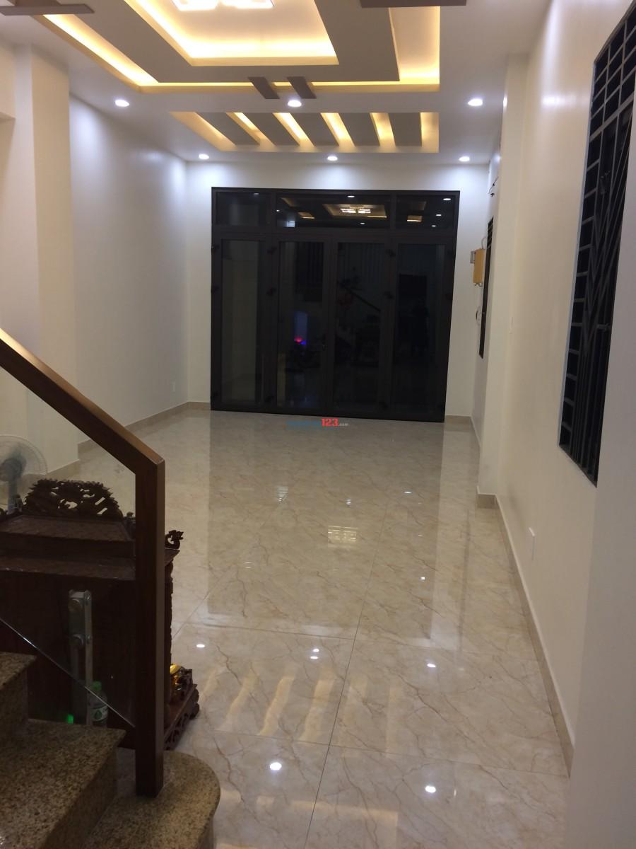 Cho thuê nhà làm văn phòng cao cấp, tại Quận Bình Thạnh (Nhà mới)
