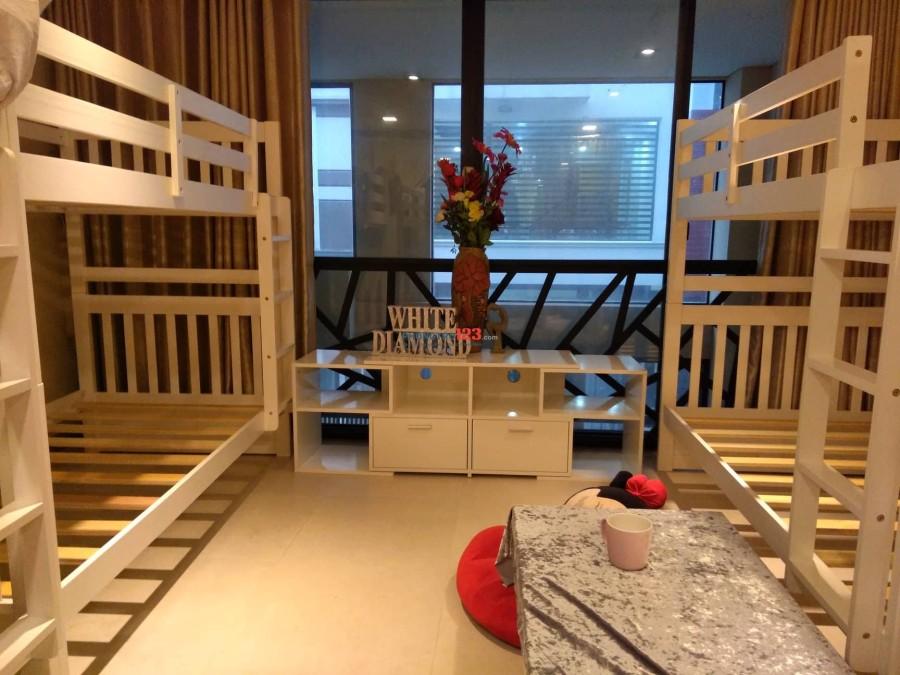 Tìm bạn ở ghép giường tầng trong nhà mới tại Chu Văn An, Bình Thạnh, phòng đẹp giờ giấc tự do
