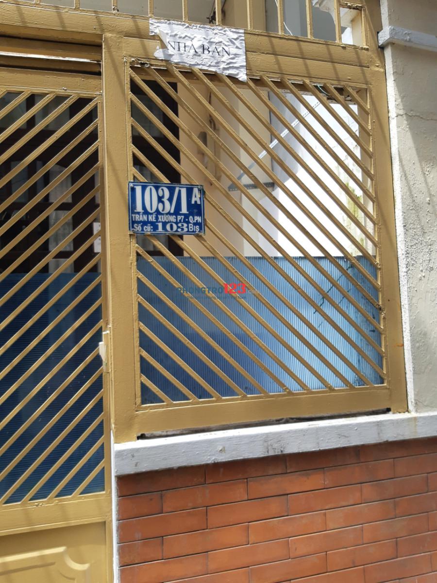 Cho thuê phòng dorm ở Quận Phú Nhuận 1.5tr/tháng (bao gồm điện nước wifi )