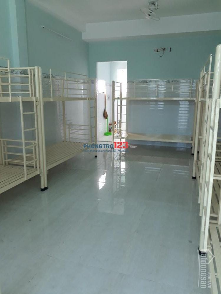 kí túc xá cho thuê đường Tân Thuận Tây, quận 7 an ninh, tự do giờ giấc