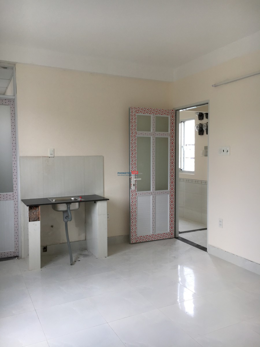 Cho thuê phòng trọ, có kệ bếp, máy lạnh 20m2, giá 2,9tr/tháng đường Nguyễn Hồng Đào