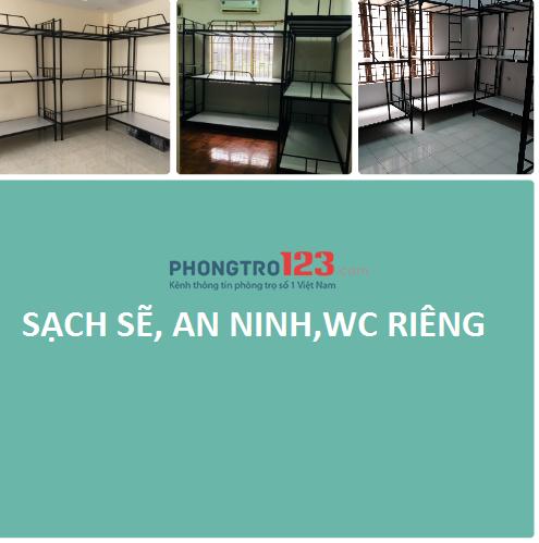 phòng trọ cho thuê mới xây địa chỉ 41 Hậu Giang,Bình Tân