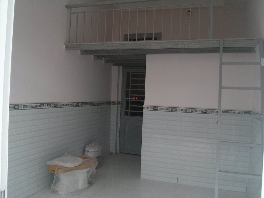 Phòng trọ mới xây gần chợ Hoàng Hoa Thám Q.Tân Bình