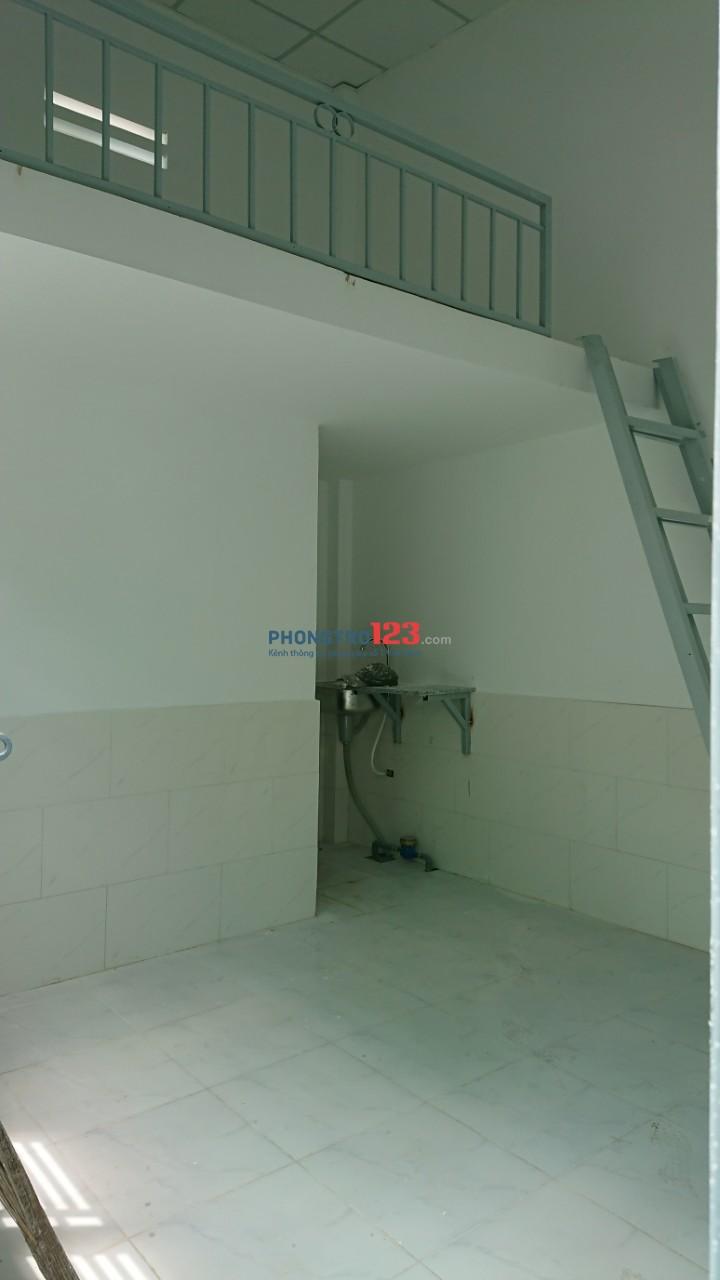 Nhà trọ 18m2 gác lửng trung tâm Thủ Đức
