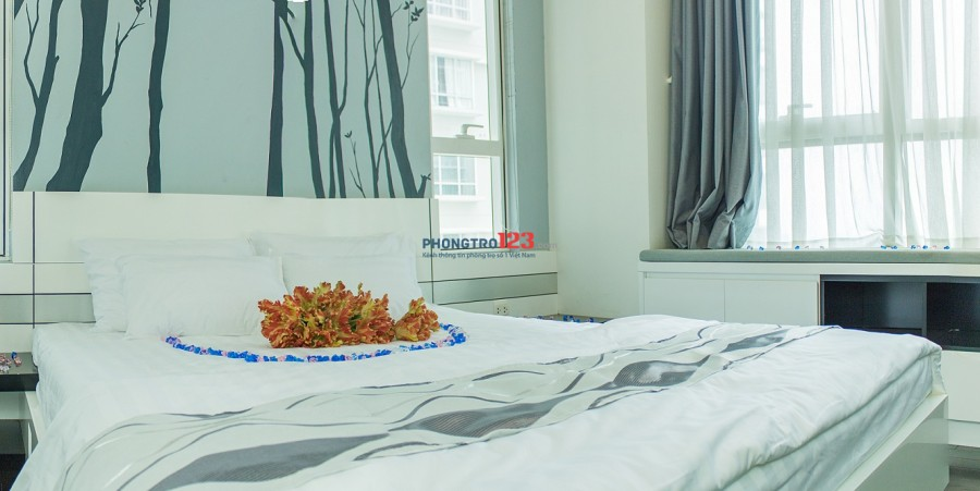 Cho thuê căn hộ Sunrise Quận 7 giá chỉ 40 đô/1pn full nội thất