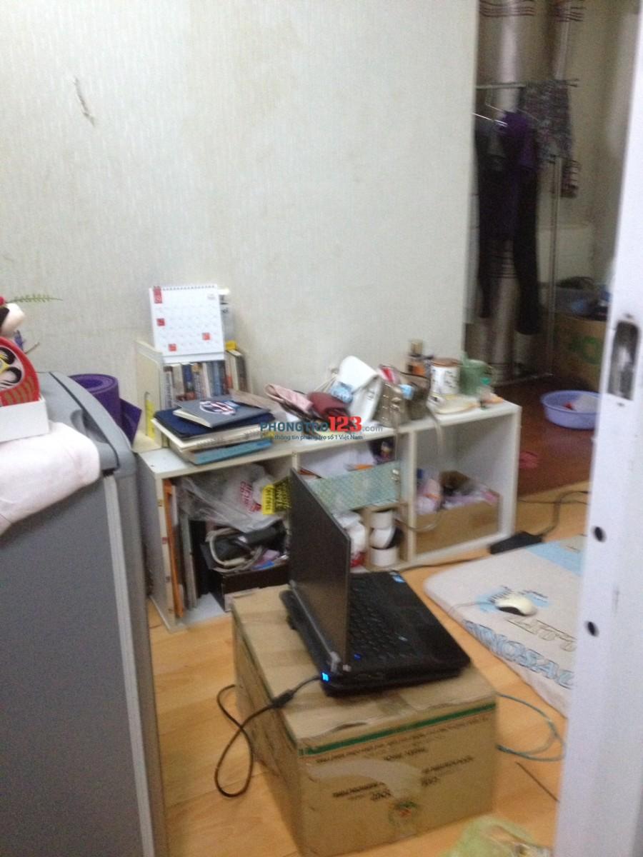 Phòng trọ 1 người  giá rẻ, máy lạnh Quận 1