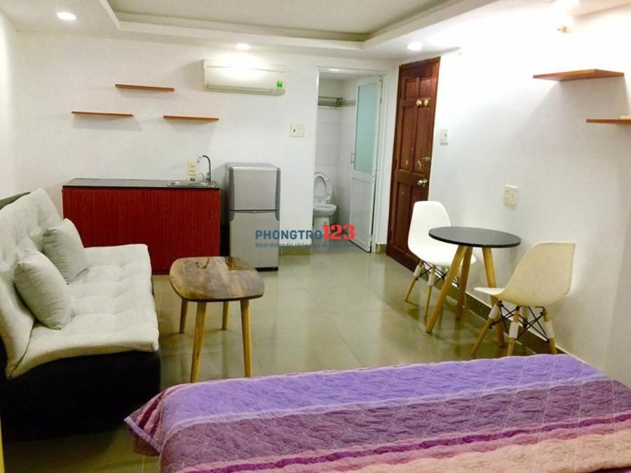 Căn hộ dịch vụ studio full nội thất đường Trường Sơn new 100%