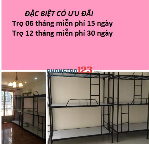 Phòng trọ cho thuê đường Thành Mỹ, quận Tân Bình sạch sẽ, có máy lạnh, 450k/tháng