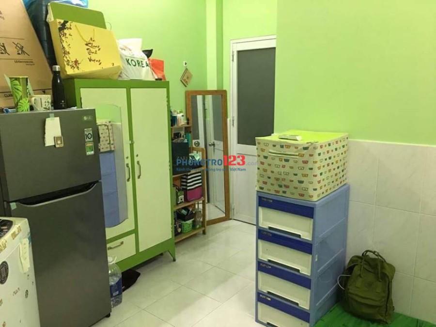 Phòng cho thuê đủ tiện nghi Quận 10 gần ĐH Huflit, Gia Định, Cao đẳng Du Lịch Sài Gòn