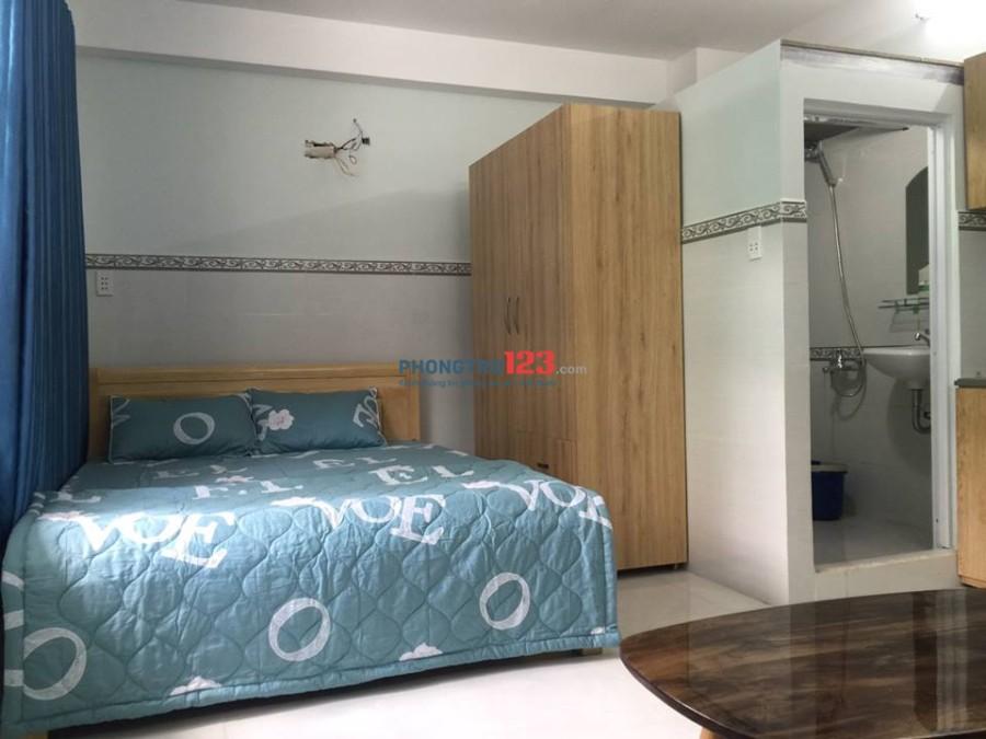 Căn hộ dịch vụ studio full nội thất, Quận Tân Bình mới 100%