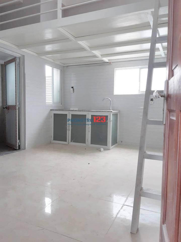 Phòng cho thuê có gác, kệ bếp, mới 100%, Lê Văn Lương, Q.7