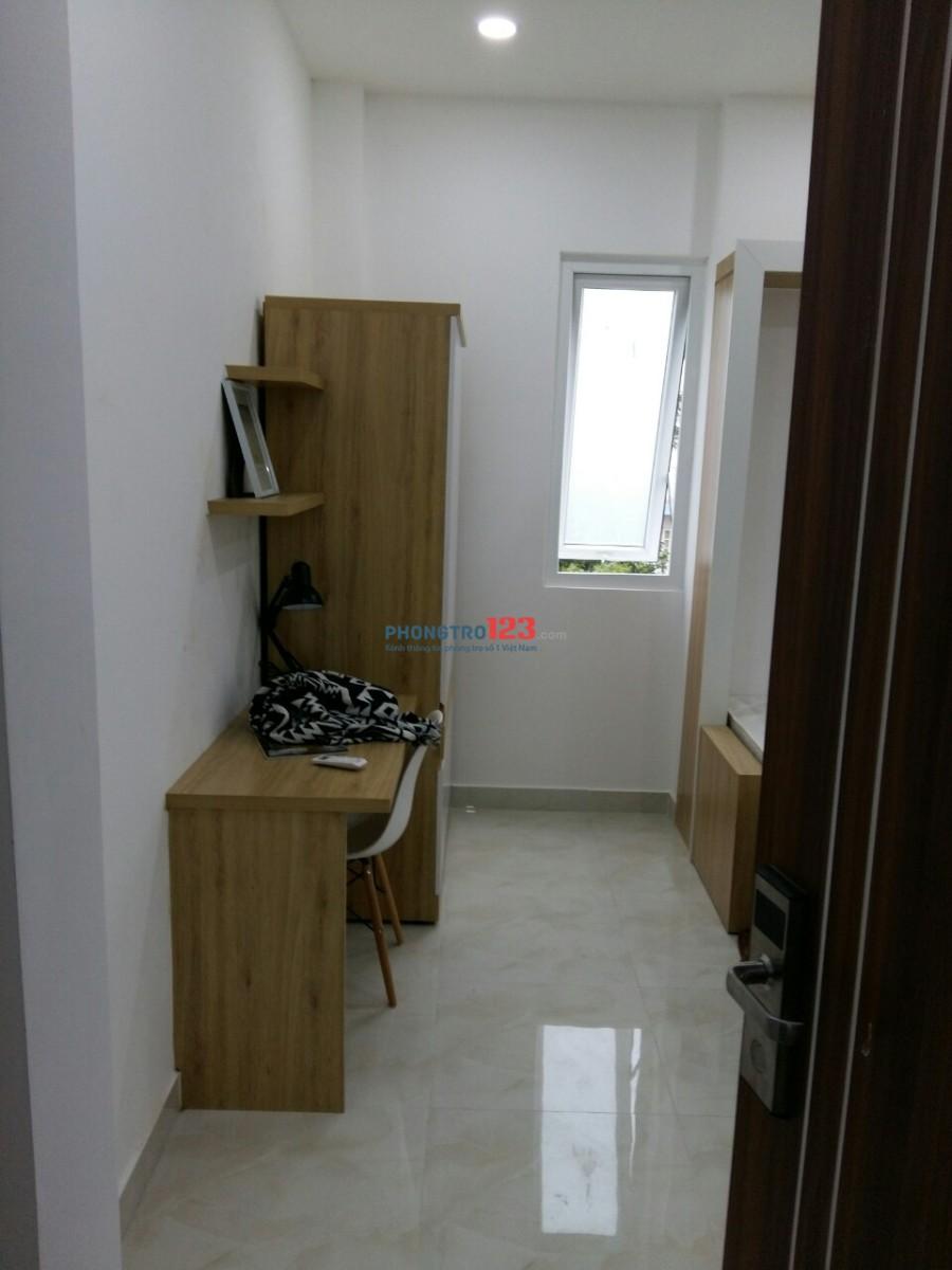 Phòng cho thuê cao cấp - Căn hộ mini - Huỳnh Tấn Phát - Q.7 - Trang bị nội thất đầy đủ