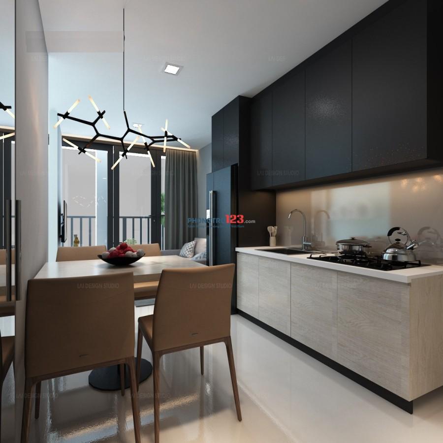 Cho thuê căn hộ cao cấp đường Cộng Hòa diện tích 40 m2, đầy đủ tiện nghi mới 100%
