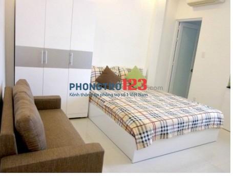 Căn hộ studio giá rẻ, full nội thất có bếp, Dương Bá Trạc, Q.8
